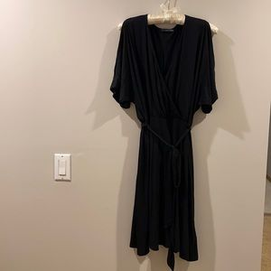 West Kei Black Dress w Cold Shoulder Size Small